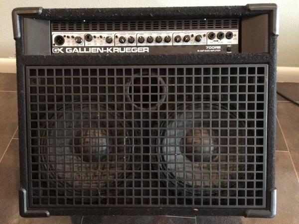 Photo Gallien Krueger 700RB Bass Combo - $450 (sterling)