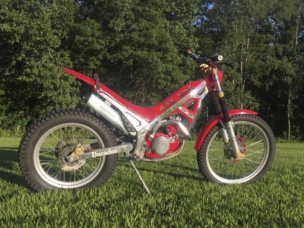 Photo Gas Gas Trials Bike GasGas - $2,100 (Stockton)