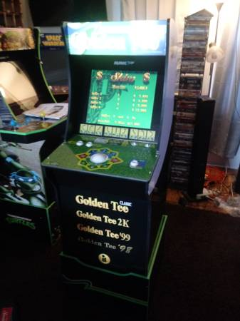 Photo Golden Tee Home Arcade