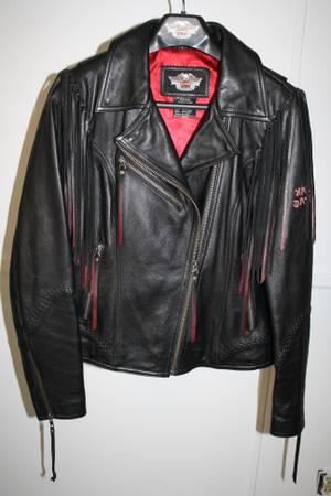 Photo Harley Davidson Leather Jacket - $250 (DeKalb)