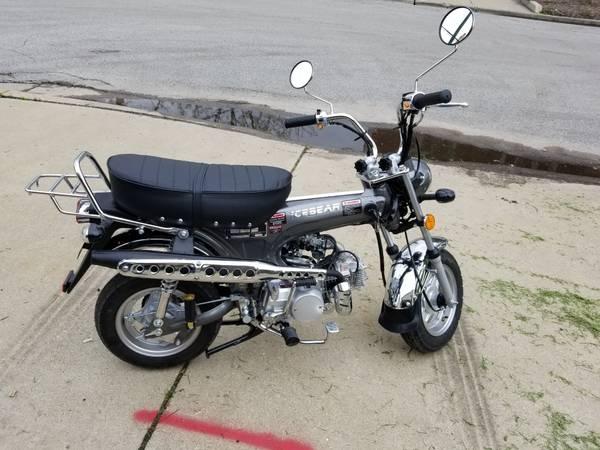 Photo Honda trail 70 ct 70 clone icebear 125cc - $1,300 (Far nw side)