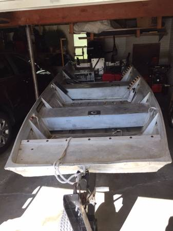 Photo JON BOAT, Flat Bottom, 16 ft, MERCURY MOTOR - $1,900 (Freeport)