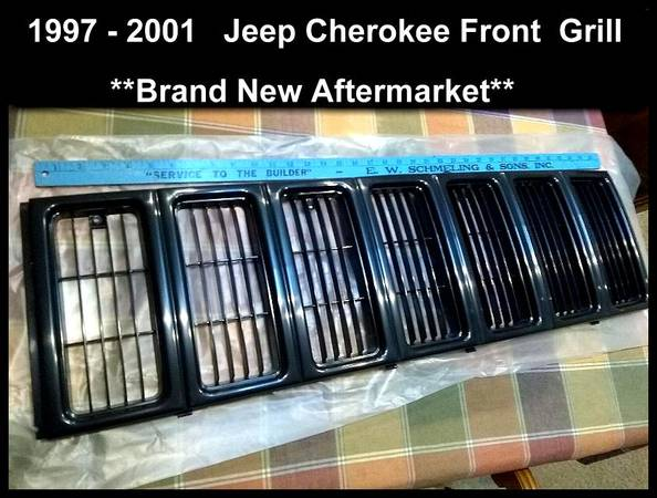Photo Jeep Cherokee Grill for 1997-2001 Replace CH1200208V - $22 (Rockford il)