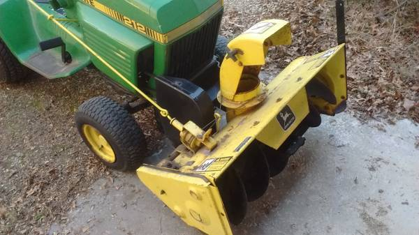 Photo John Deere 38quot snowblower $350 or with tractor $1450 - $350 (Stoughton)