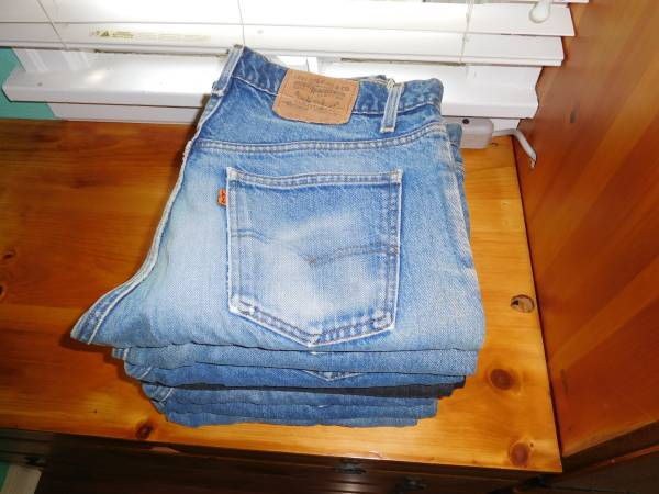 Photo Mens Levi jeans for sale - $70 (NW RFD)