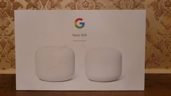 Photo NEW Nest Wifi Mesh Router and used 1 point with Google Assistant - $245 (Rockford)