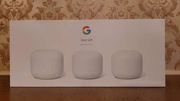 Photo NEW Nest Wifi Mesh Router and used 2 points with Google Assistant - $315 (Rockford)