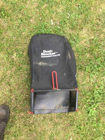 Photo Newer Craftsman Mower Bag Only Used Twice - $20 (Belvidere)