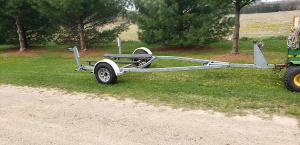 Photo Nice heavy duty trailer for 1718 ft boat . . obo - $550 (portage)