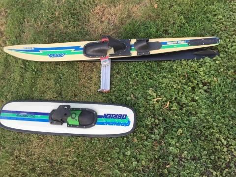 Photo O39Brien Combo Ski set and Graphite Wakeboard - $105 (Rockford)
