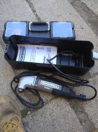 Photo Rockwell Sonicrafter Wood Sculpting Tool - $100 (Belvidere)