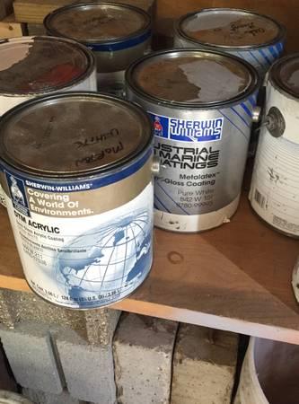 Photo Sherwin Williams water base paint (Genoa)
