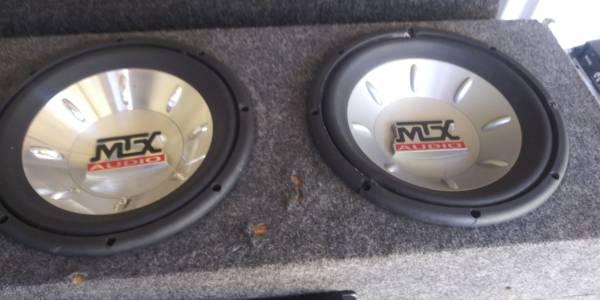 Photo Up date..2 10 inch mtx audio thunder 6000 1 .. - $50 (Rockford.ill)