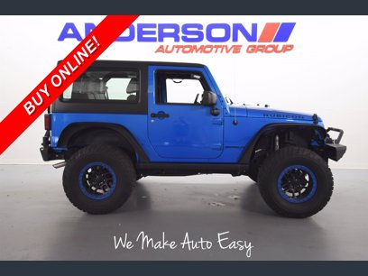 Photo Used 2016 Jeep Wrangler 4WD Rubicon w Dual Top Group for sale