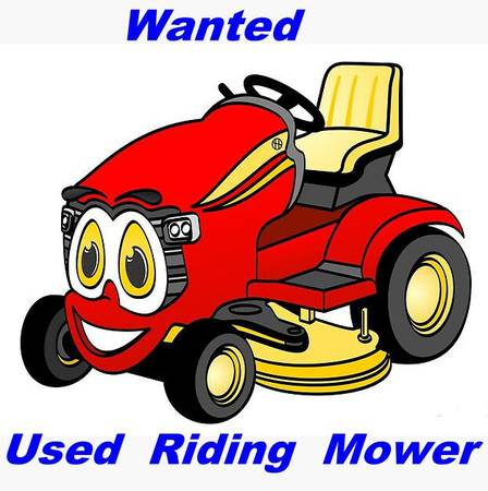 Photo Wanted Used Riding Mower - $250 (Near Rockford)