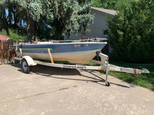 Photo 16 Foot Aluminum Fishing Boat - $3,300 (Golden)