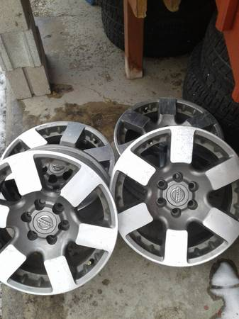Photo 16in Nissan Rims - $150 (Salida)