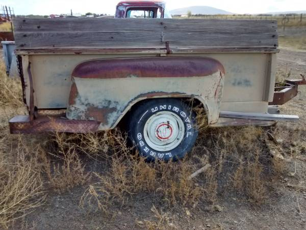 Photo 1955-1959 Chevy 34 Ton Pickup Truck Bed Trailer - OEM Parts - $800 (Antonito, CO)