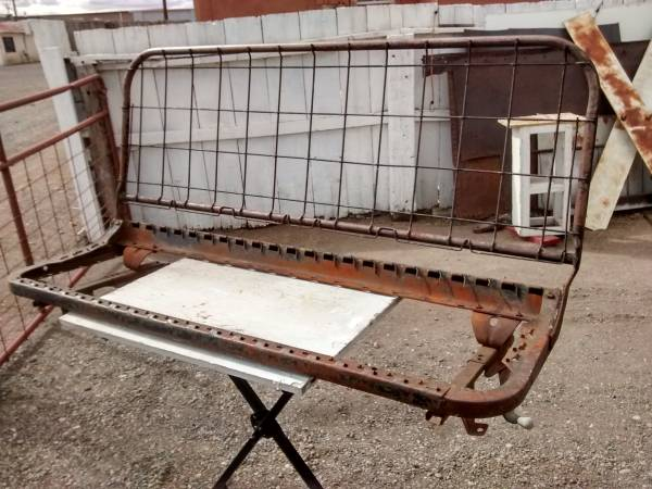 Photo 1967- 1972 Chevrolet C10 C20 Truck Bench Seat Frame and Tracks - $200 (Antonito, CO)