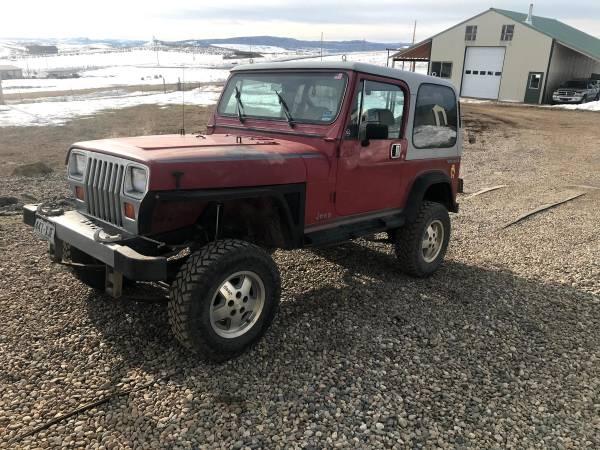 Photo 1988 Jeep Wrangler YJ 4.2L - $4000 (Craig)