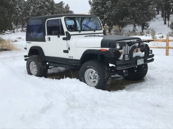 Photo 1988 Jeep Wrangler - $5500 (Eagle)