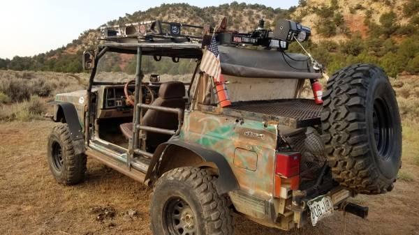 Photo 1991 custom jeep cherokee - $4,000 (mccoy)