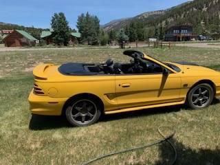Photo 1995 Convertible Ford Mustang GT - $5,500 (Lake City)