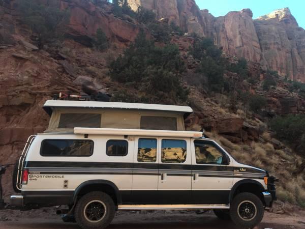 Photo 1997 E350 4x4 sportsmobile 7.3L Diesel - $37000 (Durango)