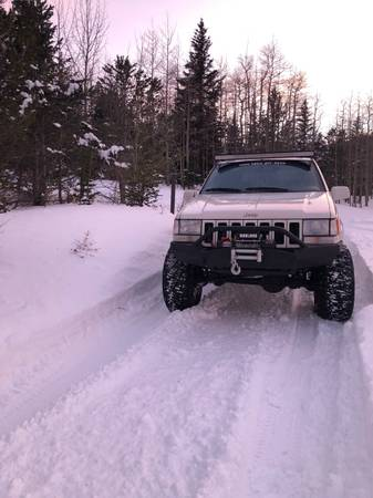 Photo 1997 Jeep Grand Cherokee Limited lifted - $4500 (Fairplay)