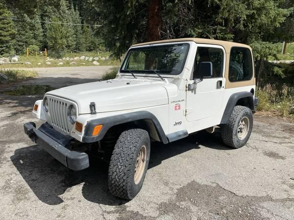 Photo 1997 Jeep Wrangler Sport TJ 4.0L - $7,800 (Breckenridge)