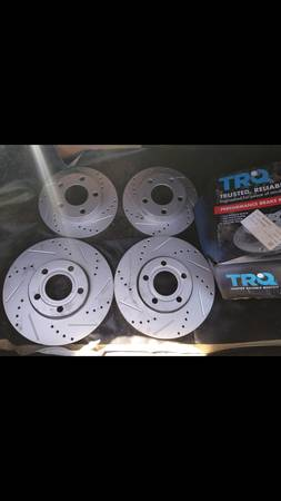 Photo 2002 audi a4 Quattro drilled rotors - $100 (Leadville)