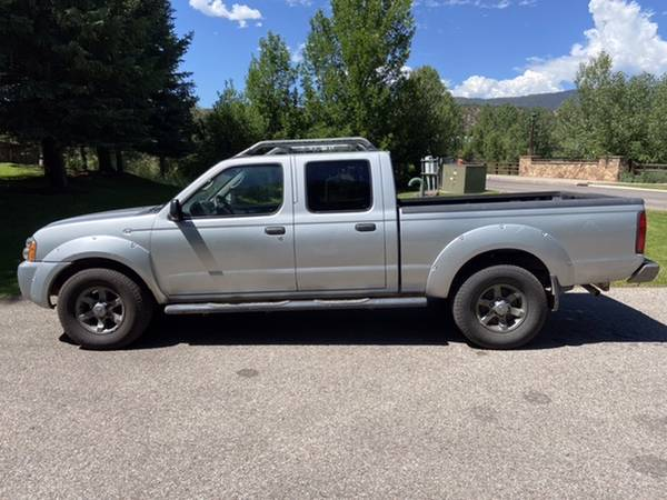 Photo 2003 Nissan Frontier crew cab long bed - $6200 (Carbondale)