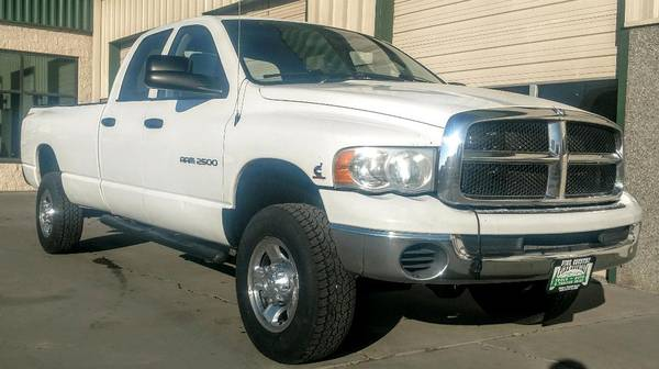 Photo 2005 Dodge Ram 2500 Quad Cab 5.9 Cummins Diesel Automatic Long Bed 4X4 - $16900 (Grand Junction)