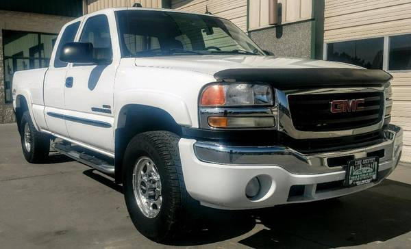 Photo 2005 GMC Sierra 2500 extended Cab 4X4 Duramax Allison Automatic - $14900 (Grand Junction)