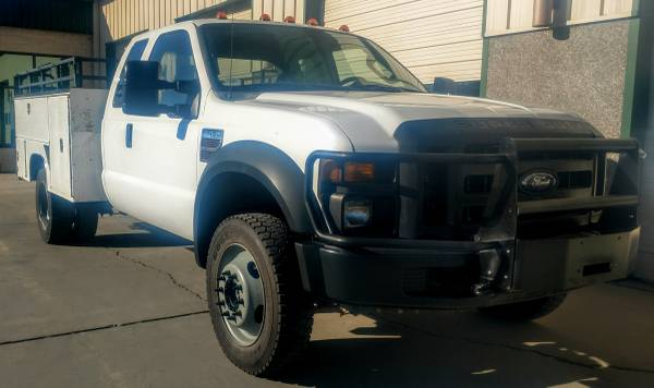 Photo 2008 Ford F-450 SuperCab Dually Utility Bed 4X4 Powerstroke Diesel - $19,900 (Grand Junction)