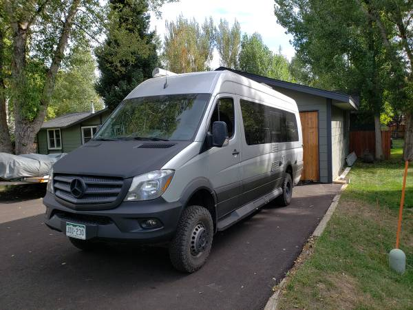 Photo 2017 4x4 170x Era Sprinter Van - $125,000 (Steamboat Springs)