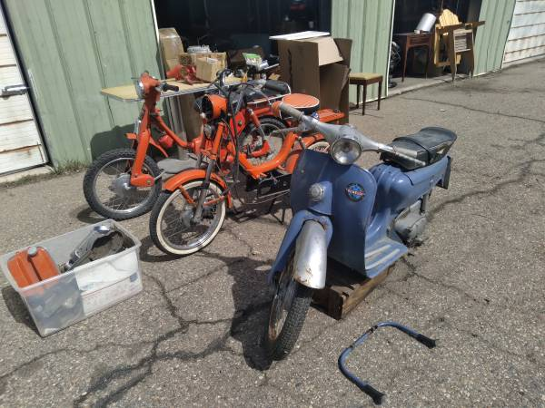 Photo 2 Project vintage scooter moped yamaha vespa step through - $400 (Fort collins)