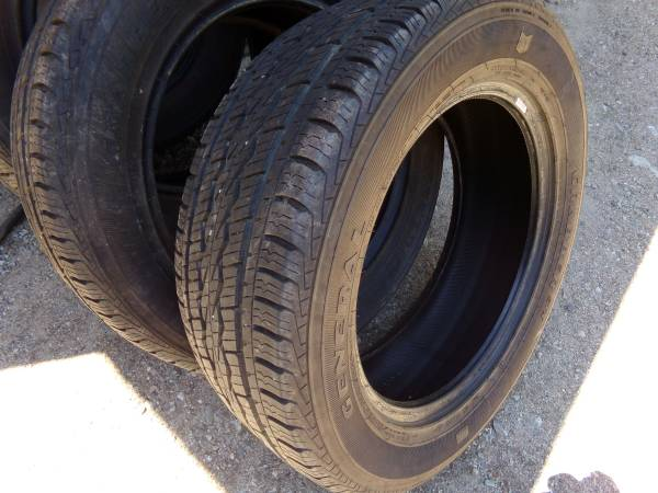 Photo 4 Used 27555R20 General Grabber STX Tires - $200 (Breckenridge)