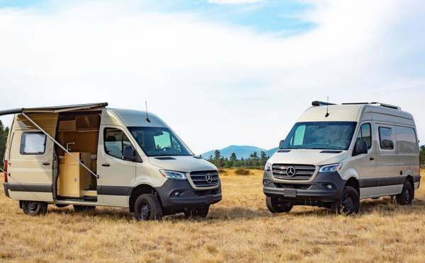 Photo 4x4 Sprinter Conversion Vans In Stock - $165,000 (Aspen)