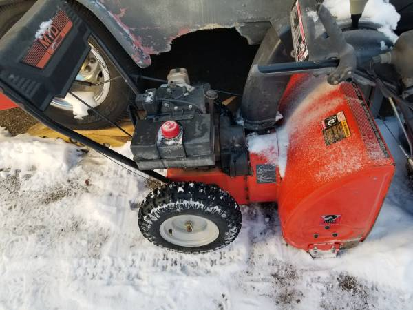 Photo 8HP 26quot MTD two stage electric start Snow Blower - $395 (Dillon)