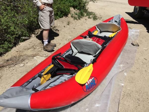 Photo AIRE Lynx 2 Inflatable Kayak - $1300 (Buena Vista)