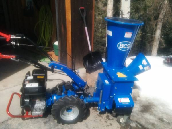 Photo BCS tractor Chipper wo rototiller (Ouray)