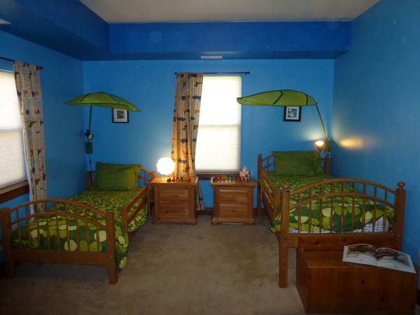 Photo Bunk bed twin set Ethan Allen kids - $200 (Steamboat Springs)