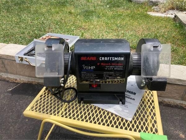 Photo Craftsman Bench Grinder - $100 (Avon, CO)