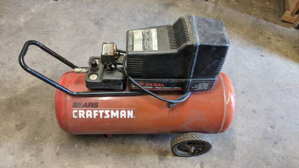 Photo Craftsman Compressor - 5hp, 30 gallon, 125psi - $200 (Hayden)