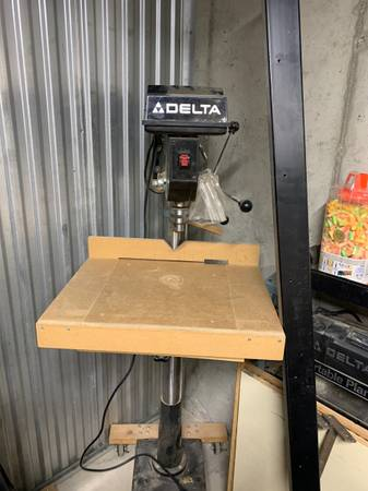 Photo Delta 14quot Floor Drill Press - $200 (Breckenridge)