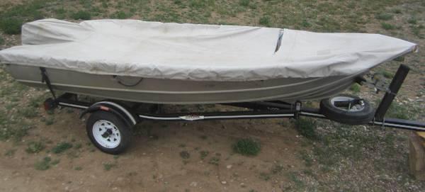 Photo Gregor Aluminum Fishing Boat - $1,800 (Durango-Aztec NM)