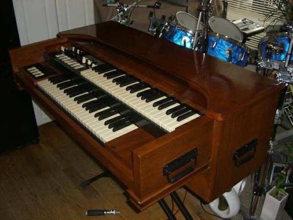 Photo Hammond M-3 organ Fully modded  chopped quotbaby B-3quot (Colorado)