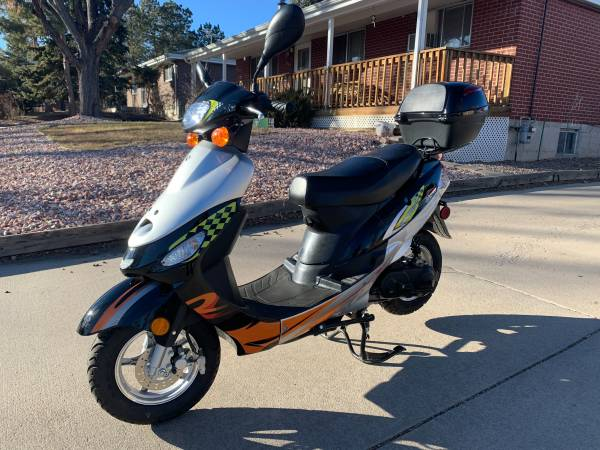 Photo Hardly Used 2020 Taotao Express 50cc Scooter, 16 Actual Miles - $900 (Englewood or Deliver)