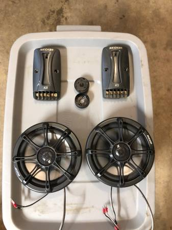 Photo Kicker 6.5 Component Car Speakers - $75 (Steamboat Springs)